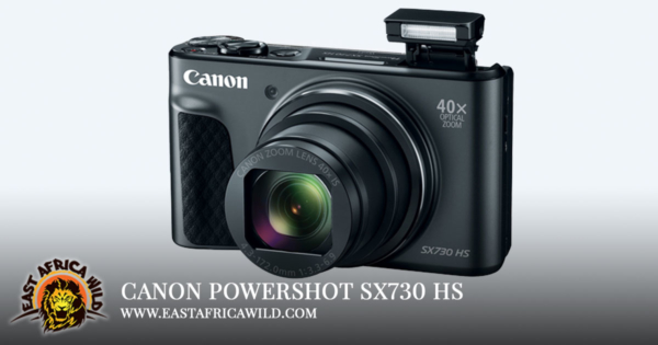 Camera for Safari Canon PowerShot SX730 HS